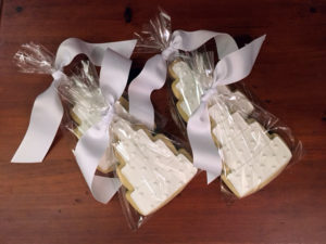 Wedding Cake Cookie Gift Bag